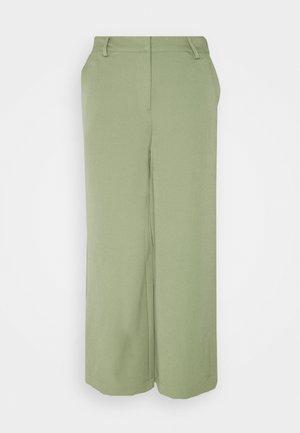 CULOTTA - Trousers - oil green