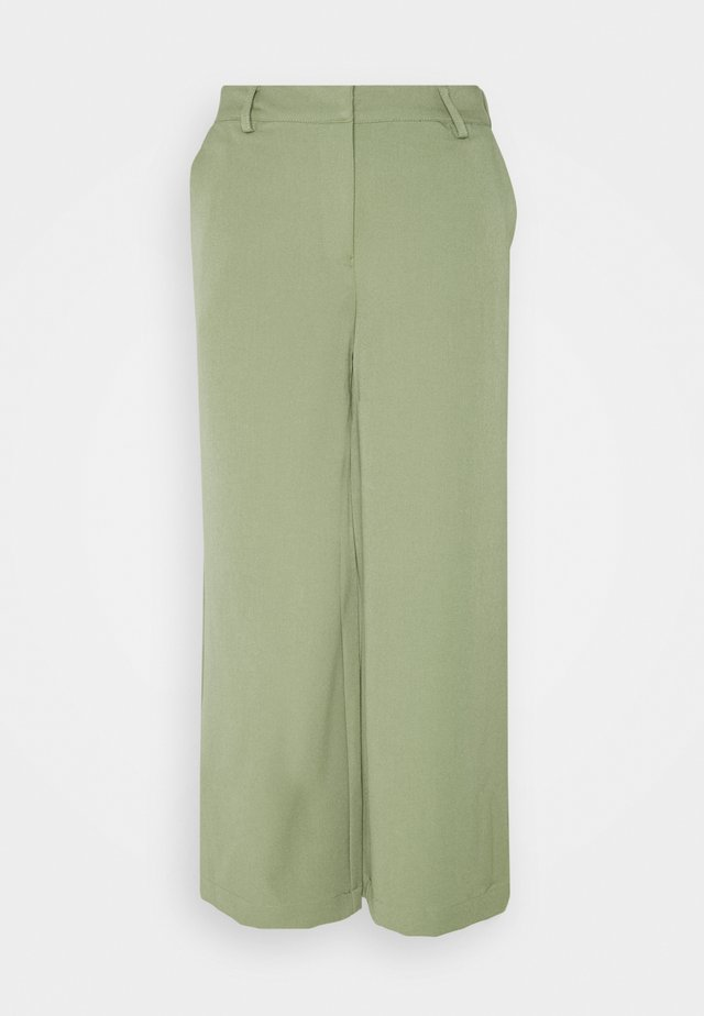 CULOTTA - Trousers - oil green