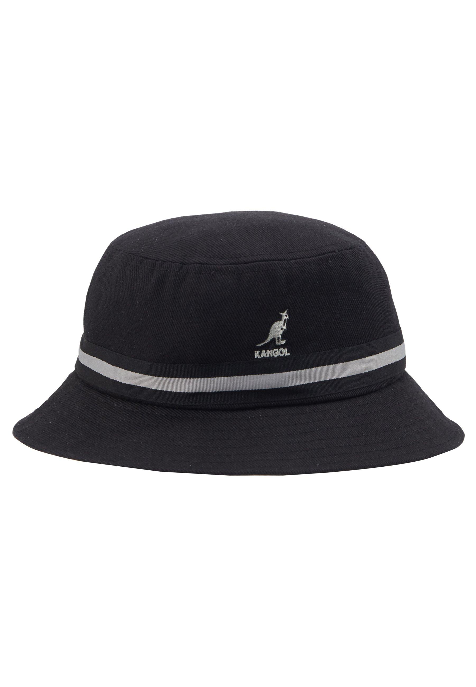 Kangol STRIPE LAHINCH - Hatt - black/svart 68jR7fuYaxhv6pH
