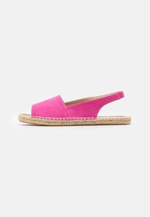 FENELLA SLINGBACK - Espadrille - pink