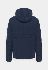 Jack & Jones - JCOMAGIC TWIST QUILTED JACKET HOOD - Light jacket - navy blazer - 1