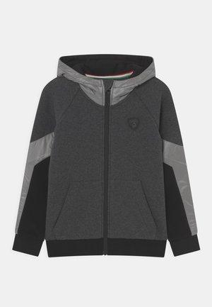 TECHNICAL HOODED - Sweatjakke - dark grey