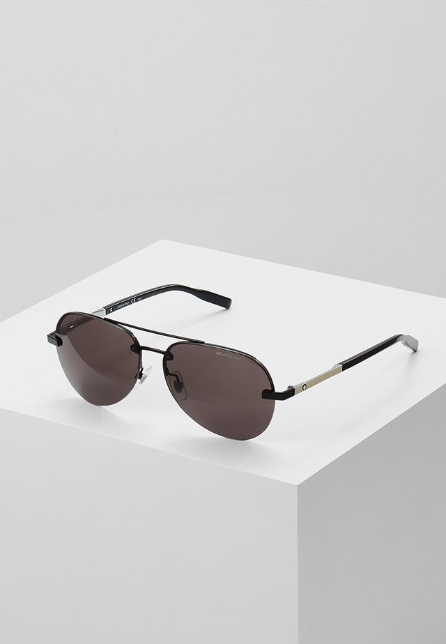 Lunettes de soleil - black/silver-coloured grey