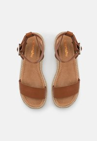 Emmshu - FABY - Korkeakorkoiset sandaalit - brown - 5