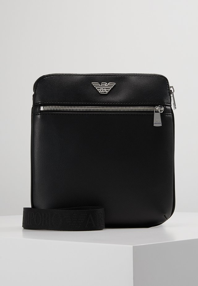 BORSA MESSENGER - Across body bag - black/black