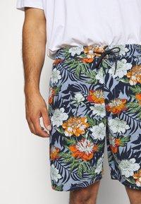 Jack´s Sportswear - FLORAL CHAMBRAY  - Short - blau - 5