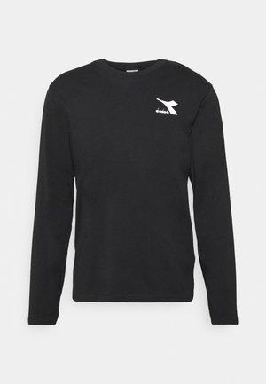 CHROMIA - Maglietta a manica lunga - black
