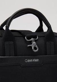 Calvin Klein - LAPTOP BAG - Briefcase - black - 3