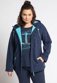 Ulla Popken - Soft shell jacket - dunkelblau - 1