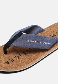 Tommy Hilfiger - BEACH - T-bar sandals - yale navy - 4