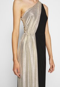 Lauren Ralph Lauren - CLASSIC LONG GOWN  - Occasion wear - black/lannister gold - 4