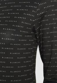 BLANCHE - COMFY LONGSLEEVE - T-shirt à manches longues - black - 2
