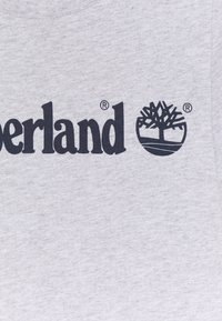 Timberland - SHORT SLEEVES TEE - Print T-shirt - chine grey - 2