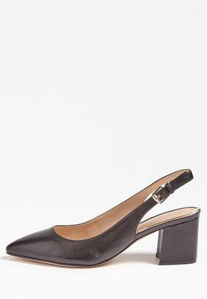 DECOLLETE TERNER VERA PELLE - Classic heels - nero