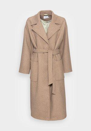 SECILIA JACKET - Classic coat - oatmeal melange