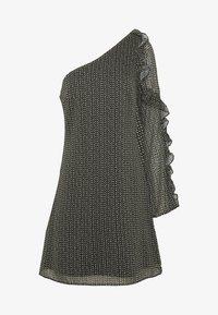 Stevie May - SPECKLE MINI DRESS - Denní šaty - black - 5