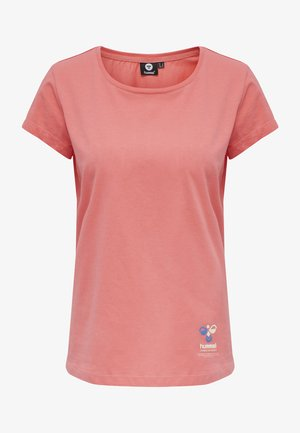 SCARLET - Basic T-shirt - sugar coral