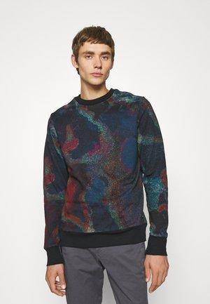 ACID OIL SLICK UNISEX - Sweatshirt - dark blue/red
