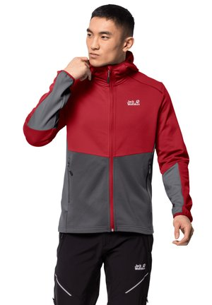 MOUNT ISA - Fleece jacket - red lacquer
