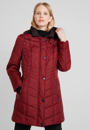 Winter coat - burgundy