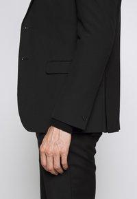 Limehaus - SUIT SLIM FIT - Oblek - black - 10