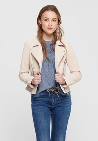 ONLY - ONLRILEY  - Leather jacket - peyote - 0