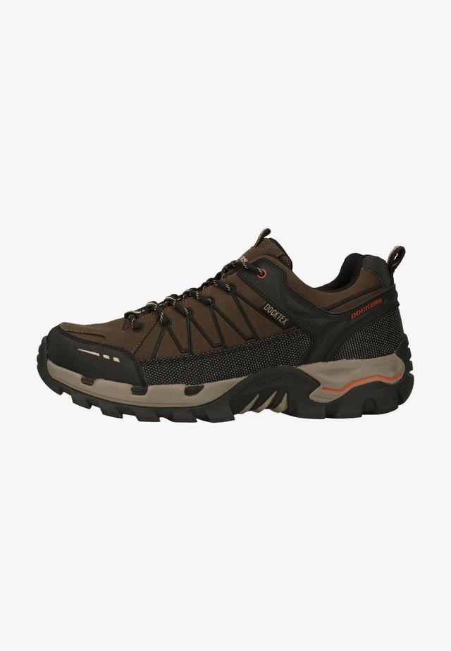 Sneakersy niskie - schoko/schwarz 361
