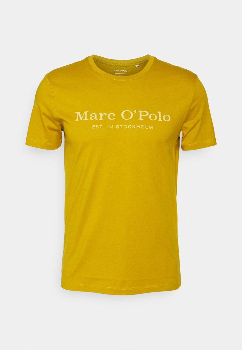 Marc O'Polo - SHORT SLEEVE CLASSIC - Print T-shirt - renaissance gold