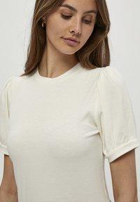 Minus - JOHANNA  - T-shirt basic - cloud dancer - 3