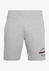 Tommy Sport - PRINTED SHORT - Korte broeken - grey - 5