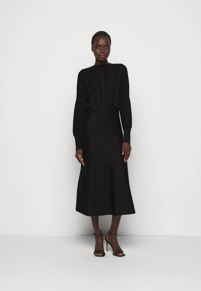 MAX&Co. - PROCIDA - Jumper dress - black