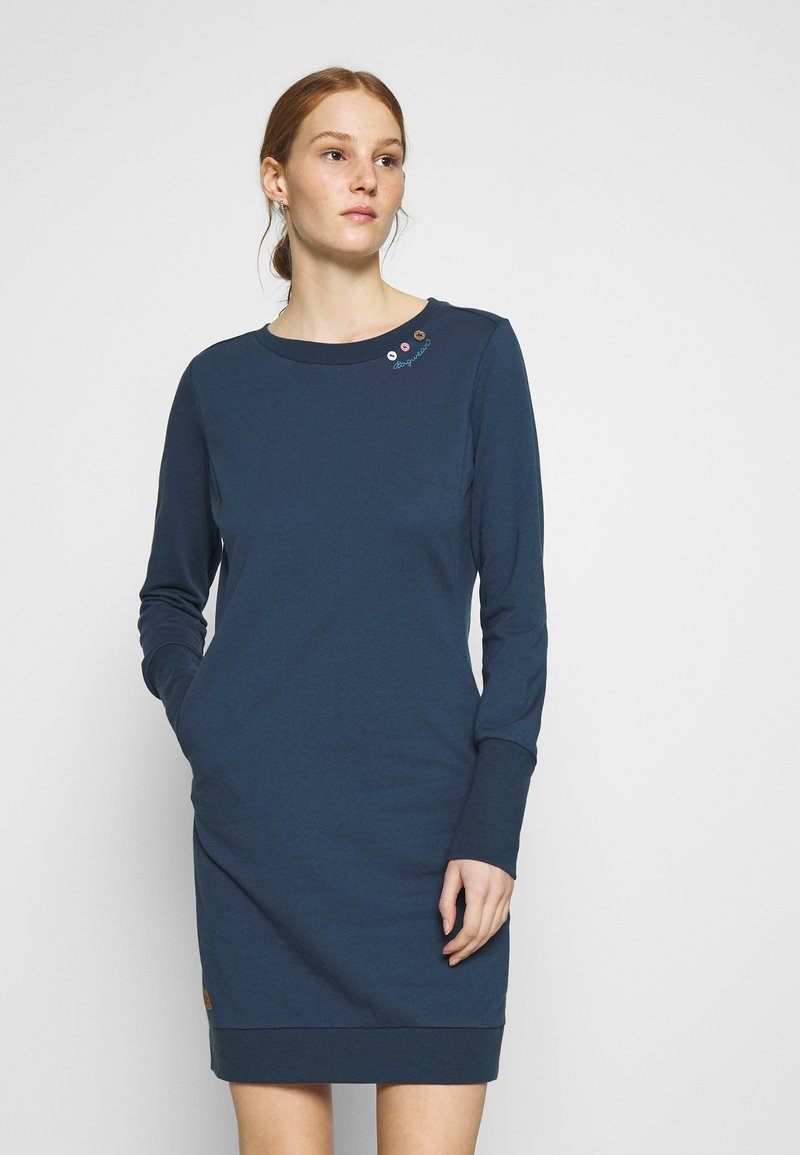 Ragwear - MENITA - Day dress - denim blue