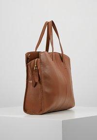 KIOMI - LEATHER - Laptop bag - cognac - 3
