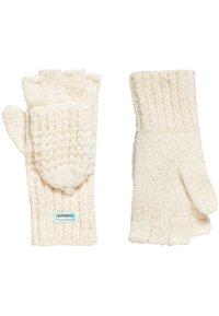 Superdry - CLARRIE - Fingerless gloves - offwhite - 1