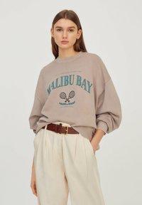 PULL&BEAR - Sweatshirts - beige - 0