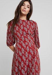 Louche - RILEY PAISLEY - Maxi dress - red - 4