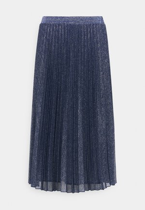 PAGINA - A-line skirt - navy blue