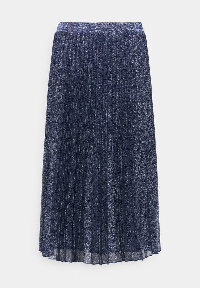 PAGINA - A-lijn rok - navy blue