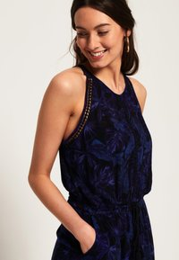 Superdry - Jumpsuit - Navy Moody Tropical - 3