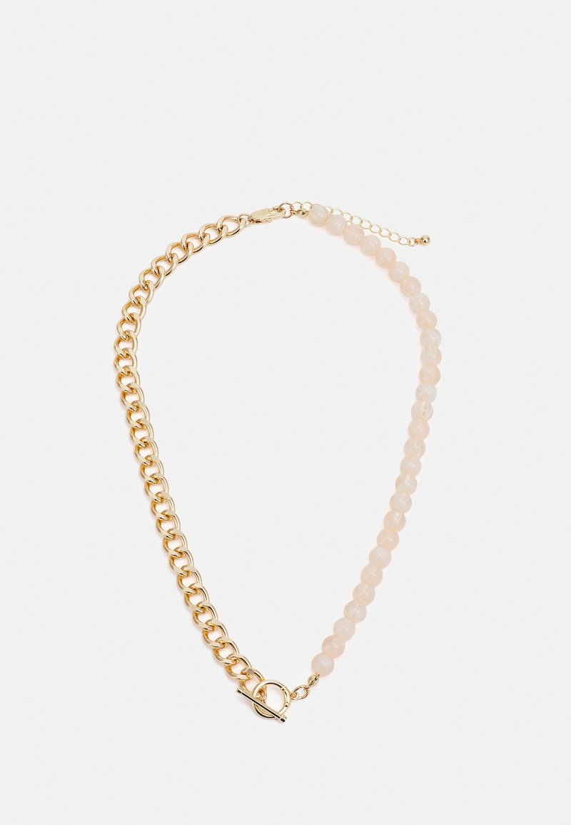 Pieces - PCLEA NECKLACE - Necklace - gold-coloured/pink