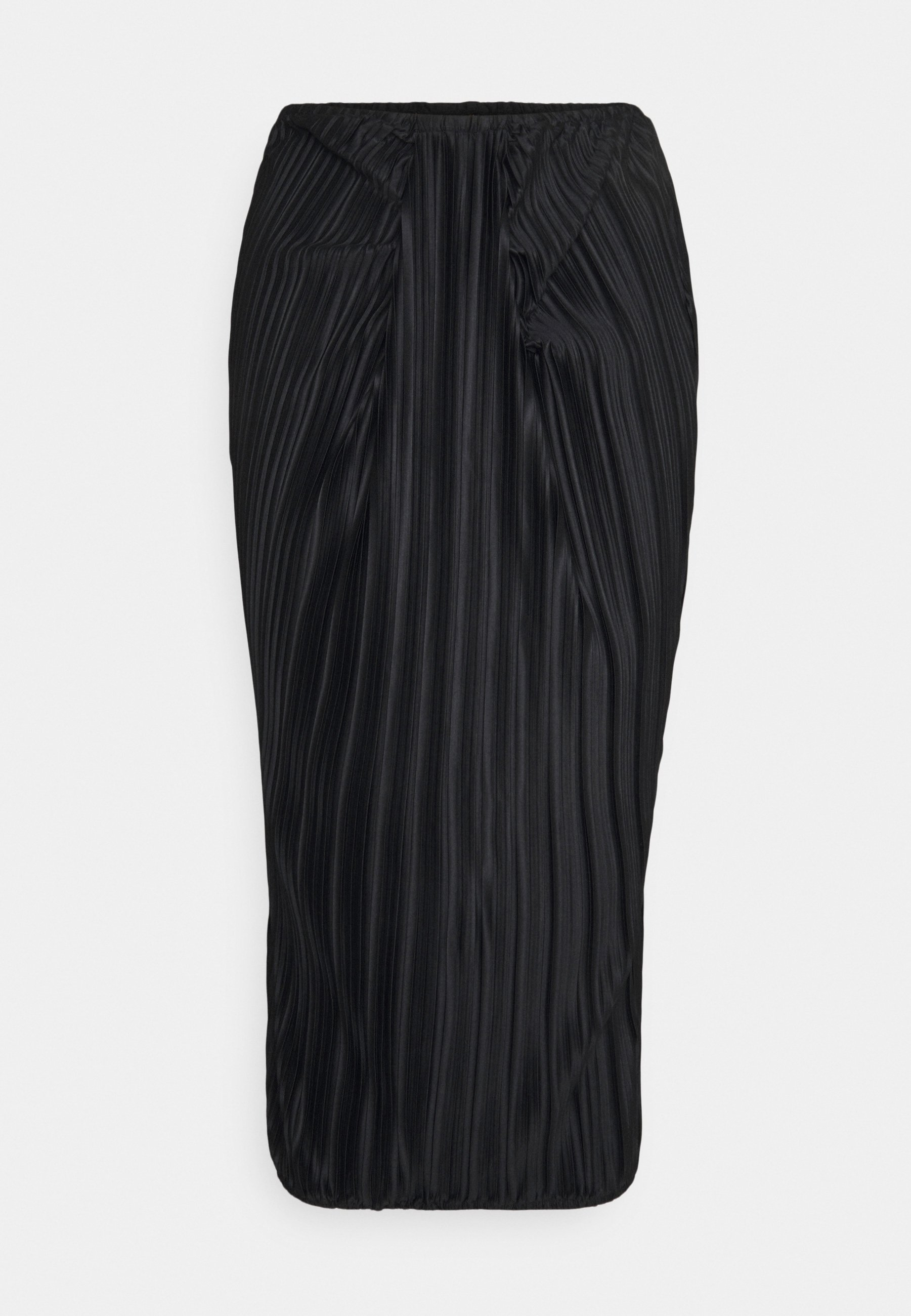 Donna RUCHED FRONT TIE SKIRT - Gonna a pieghe