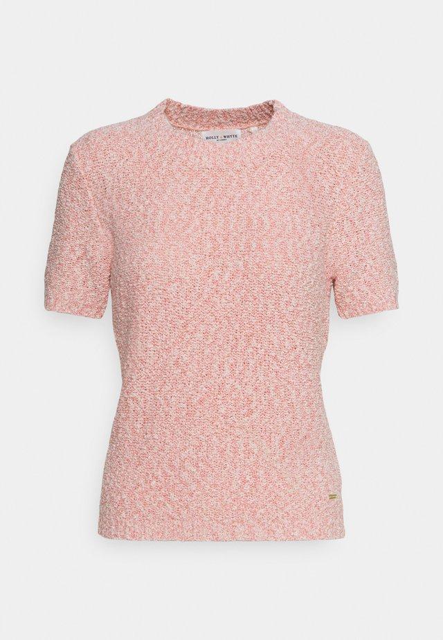 JUMPER NINETTE - T-shirt print - pink