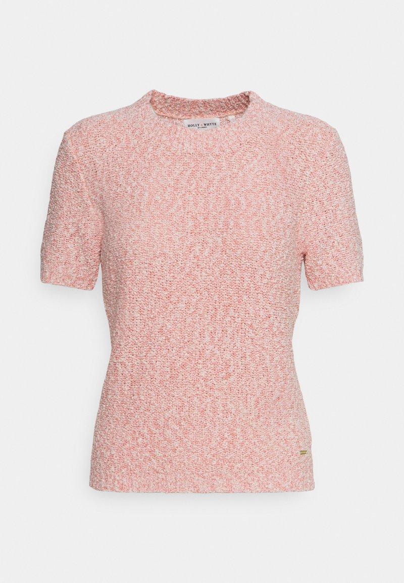 Lindex - JUMPER NINETTE - Print T-shirt - pink