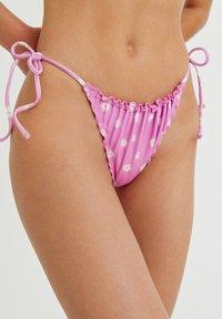 PULL&BEAR - Bikini bottoms - mottled light pink - 3