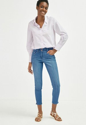 Button-down blouse - lilac