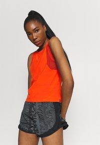 Nike Performance - AIR TANK - Top - team orange/silver - 3