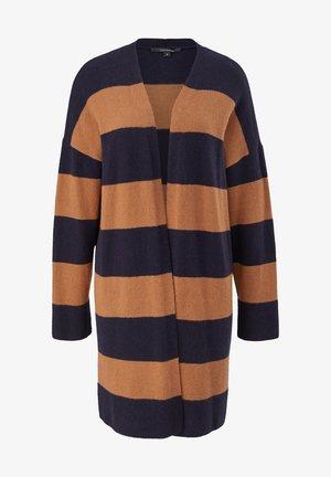 Cardigan - peanut stripes