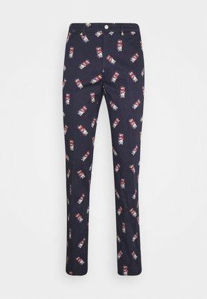 SFGOLFPANT ATHLETIC PANT - Spodnie materiałowe - dark blue