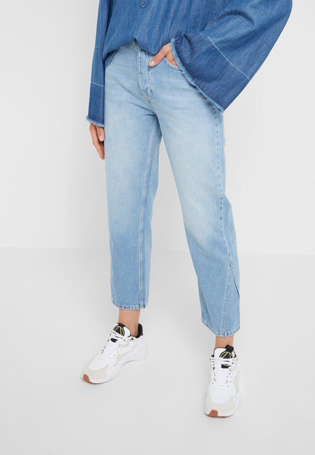PIXI - Jeans a sigaretta - used blue