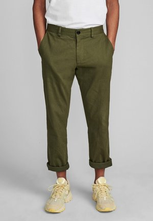 AKJOHN PANTS - Trousers - cypress